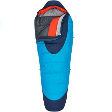 Winter hiking sleeping bag